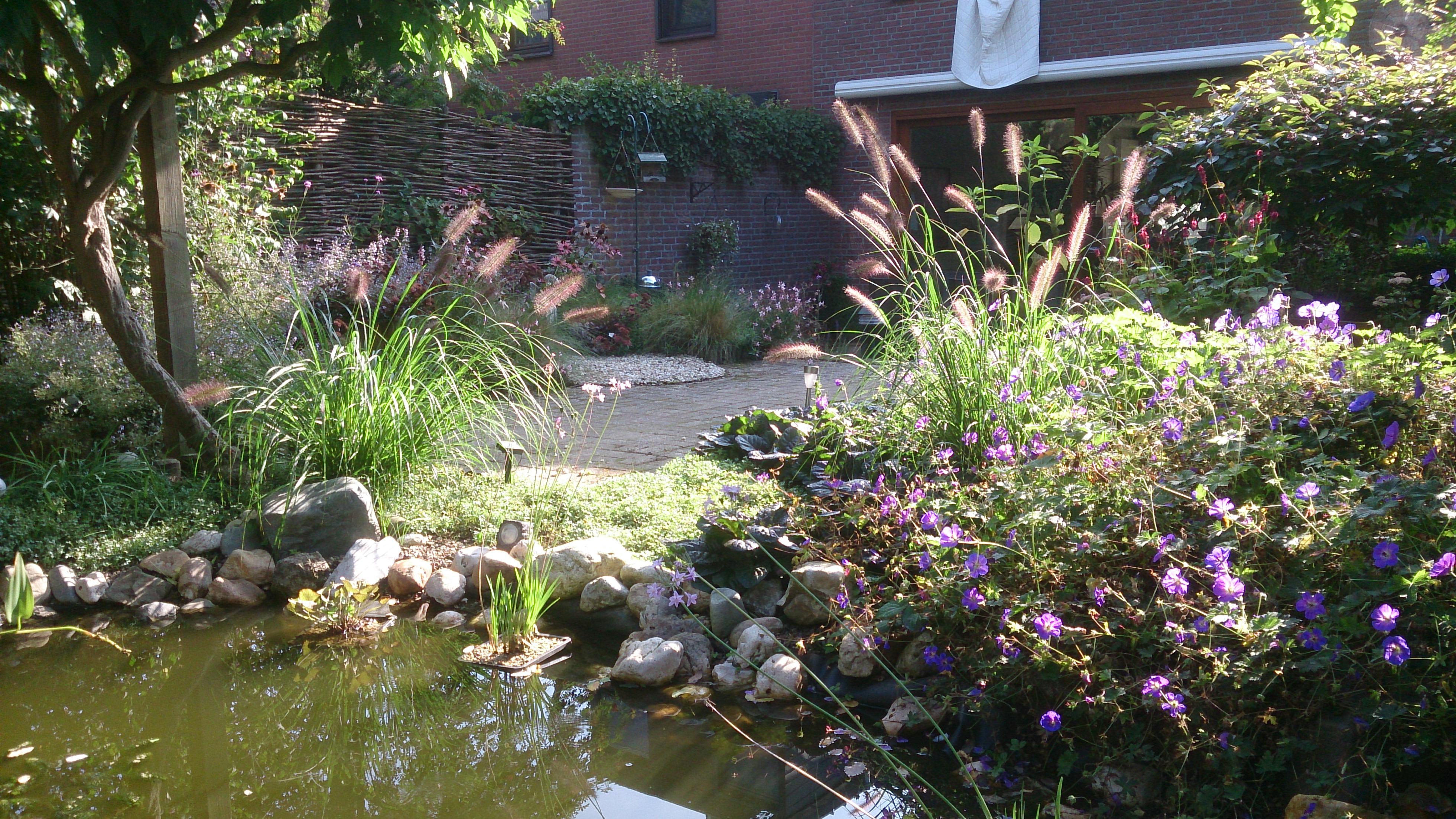 De mildert tuinen website weelderige tuin met for Tuin en vijver